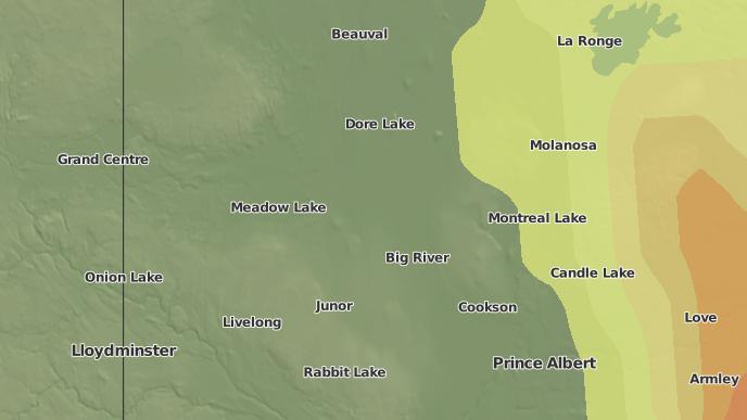 pour Big River, Saskatchewan