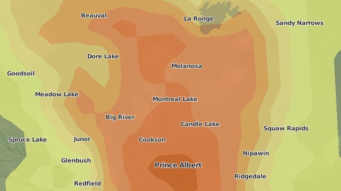 pour Prince Albert National Park, Saskatchewan