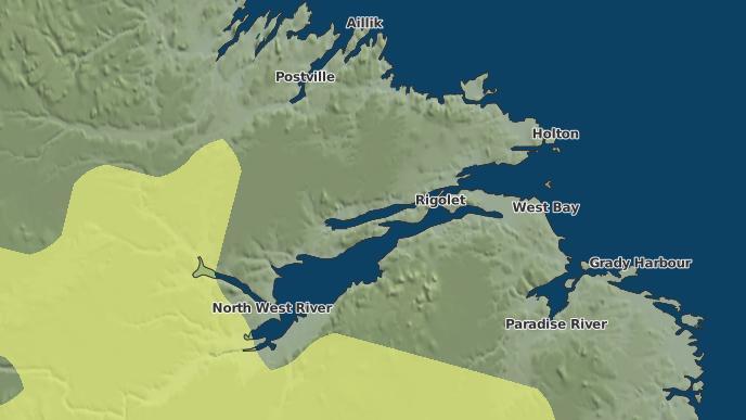 for Rigolet, Newfoundland and Labrador