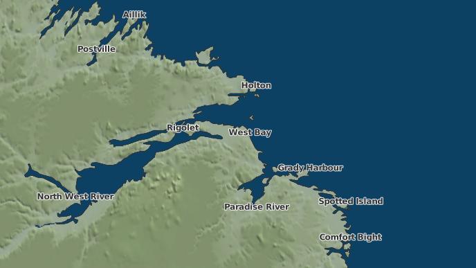 for West Bay, Newfoundland and Labrador