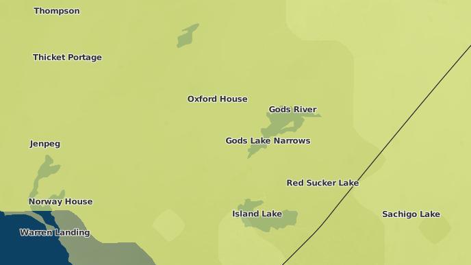 for Chataway Lake/Knife Lake, Manitoba