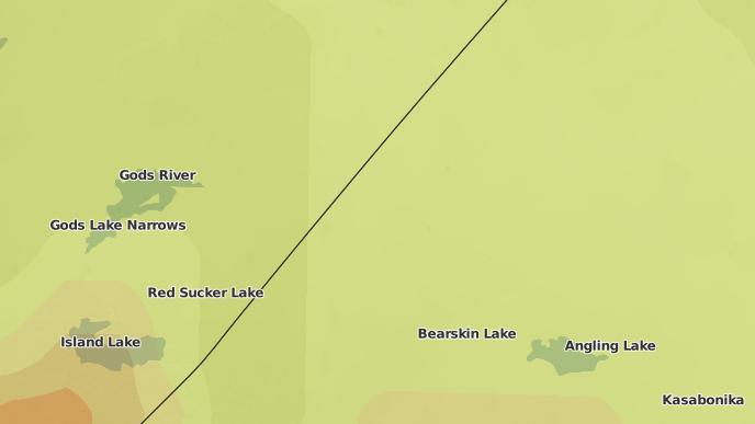 pour Prominent Ridge, Manitoba