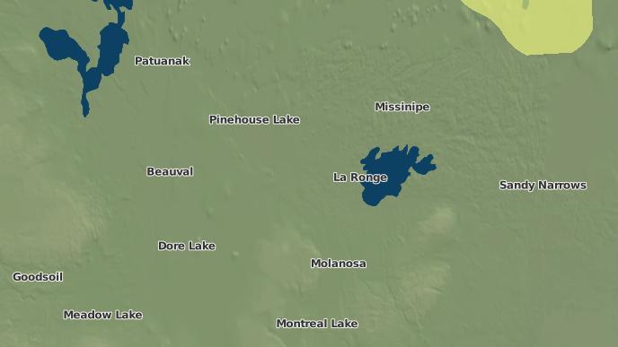 pour Potato River I.R. 156A, Saskatchewan