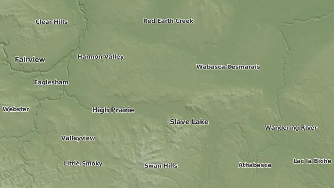 pour Canyon Creek, Alberta