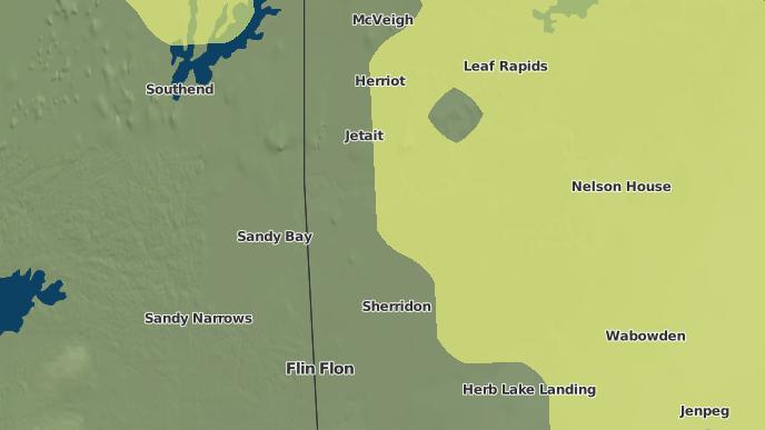 pour Kamihkowapihskak Pawistik Indian Reserve, Manitoba