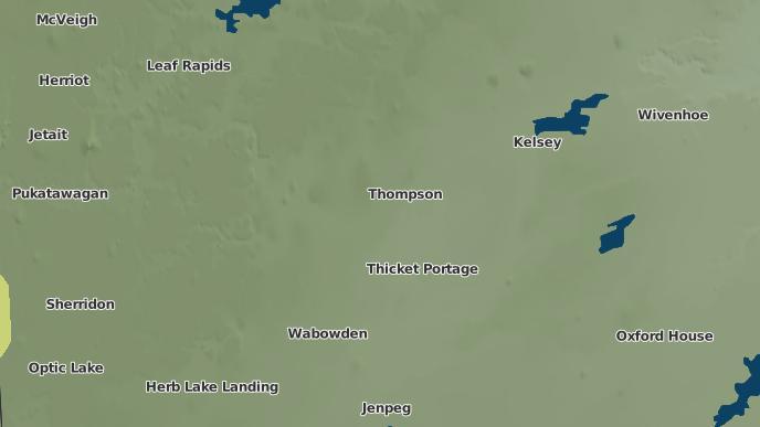 for Mystery Lake, Manitoba