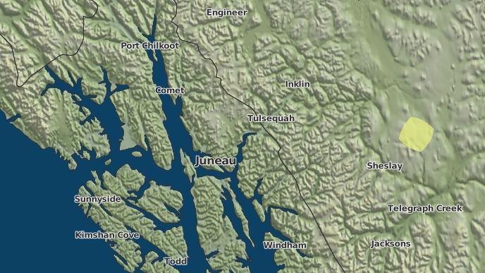 for Tulsequah, British Columbia
