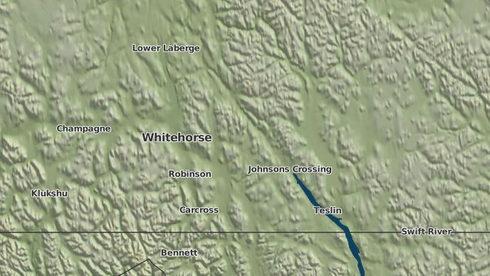 for Johnsons Crossing, Yukon
