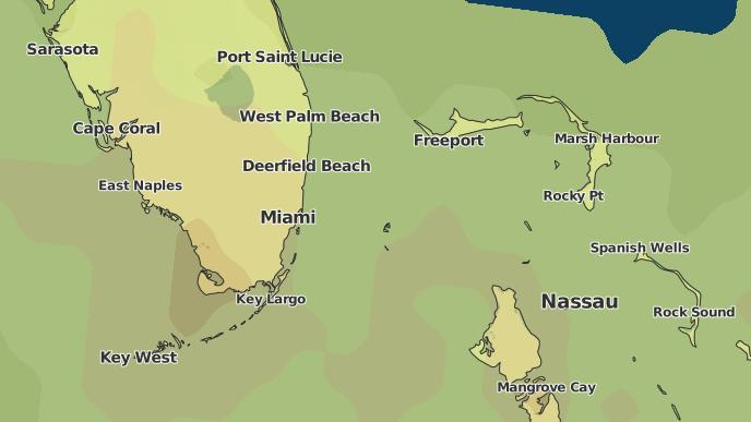 Dania Beach Map on