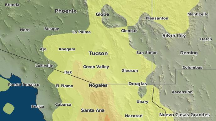 3-Day Severe Weather Outlook: Tucson, Arizona - The Weather Network