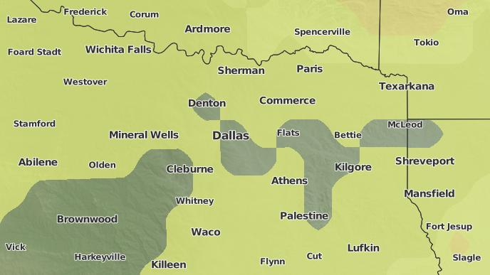 Map Of Justin Texas.3 Day Severe Weather Outlook Justin Texas The Weather Network