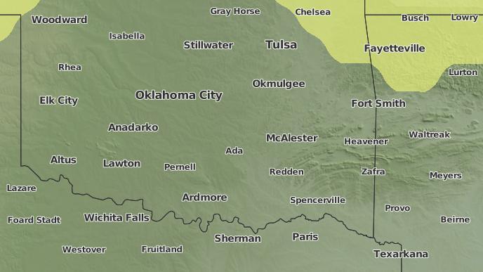 for Ada, Oklahoma
