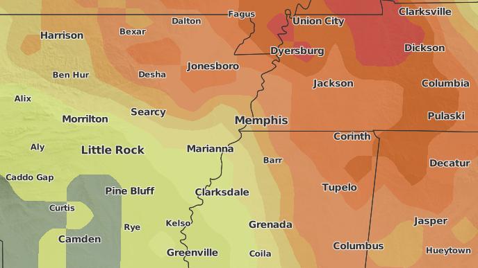 for Parkin, Arkansas