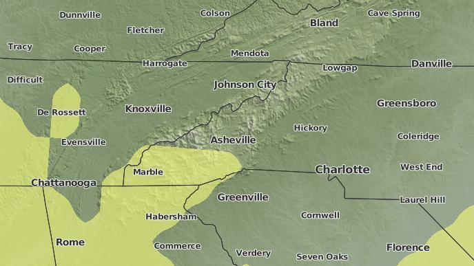 3-Day Severe Weather Outlook: Laurel Park, North Carolina - The