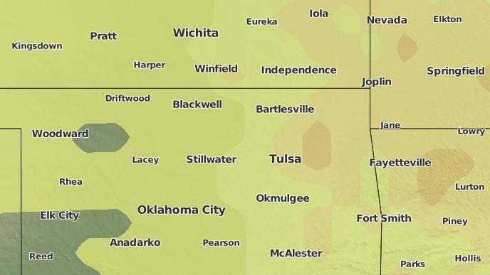 3-Day Severe Weather Outlook: Tulsa, Oklahoma - The Weather Network