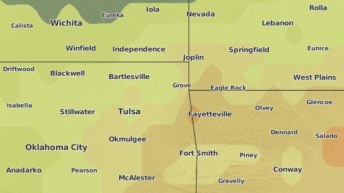Grove Oklahoma Map.3 Day Severe Weather Outlook Locust Grove Oklahoma The Weather