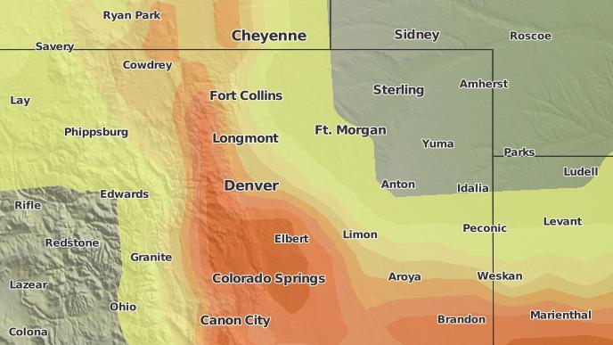 for Denver, Colorado