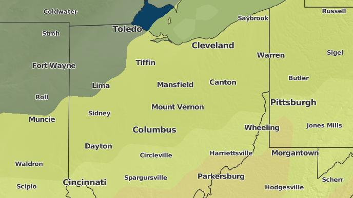 Perrysville Ohio Map.3 Day Severe Weather Outlook Perrysville Ohio The Weather Network