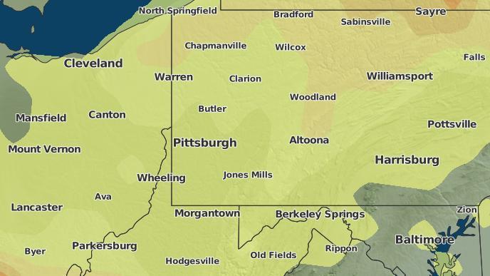 for Pittsburgh, Pennsylvania