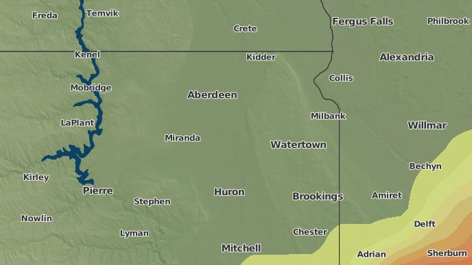 3-Day Severe Weather Outlook: Florence, South Dakota - The ... on adrian ga map, adrian mi map, adrian mn map,