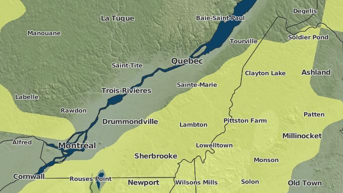 for Chesterville, Quebec