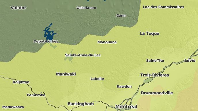 pour Lac-des-Écorces, Québec