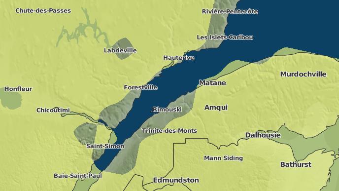 pour Saint-Moïse, Québec