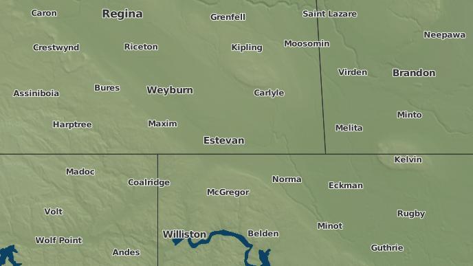 for Alameda, Saskatchewan