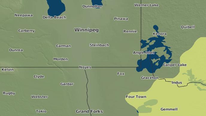 pour Piney, Manitoba