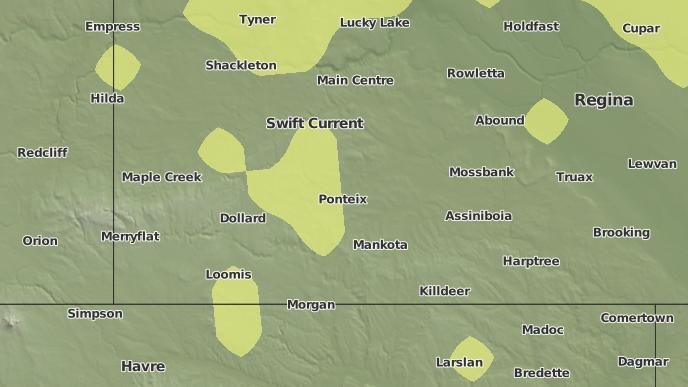 for Meyronne, Saskatchewan