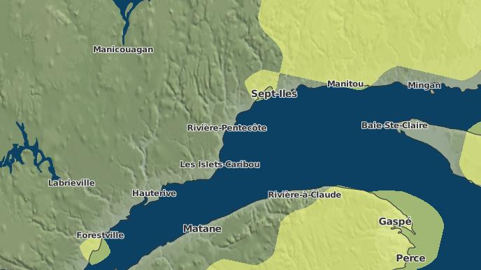 pour Pointe-aux-Anglais, Québec