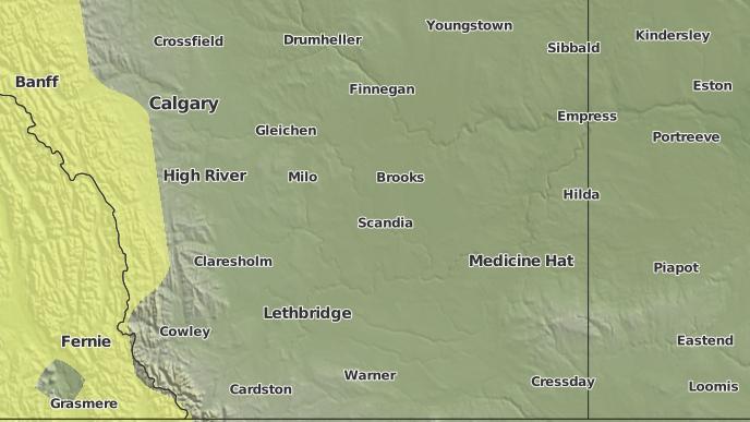 pour Armada, Alberta