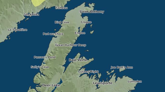for Harbour Deep, Newfoundland and Labrador