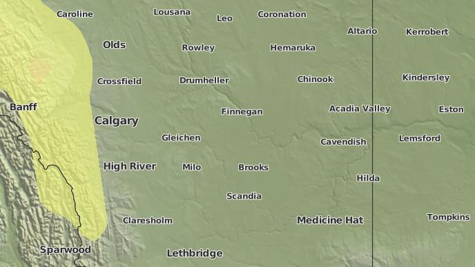 pour Verger, Alberta