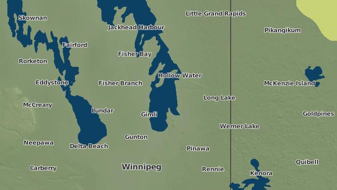 pour Wanipigow West, Manitoba