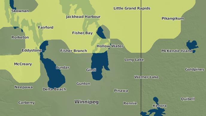 pour Fort Alexander 3, Manitoba