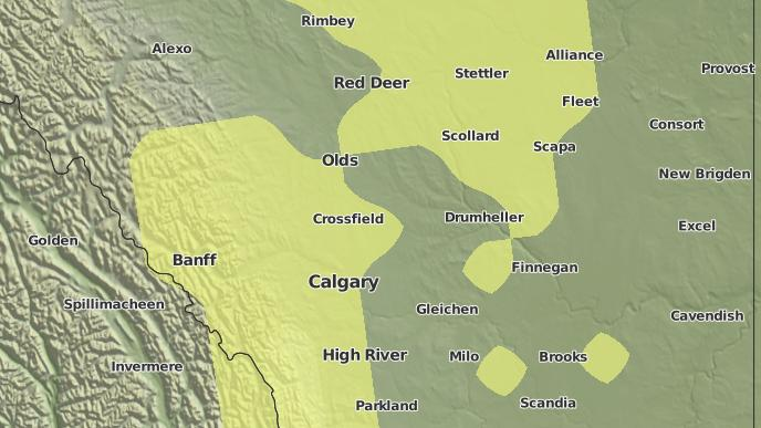for Airdrie, Alberta
