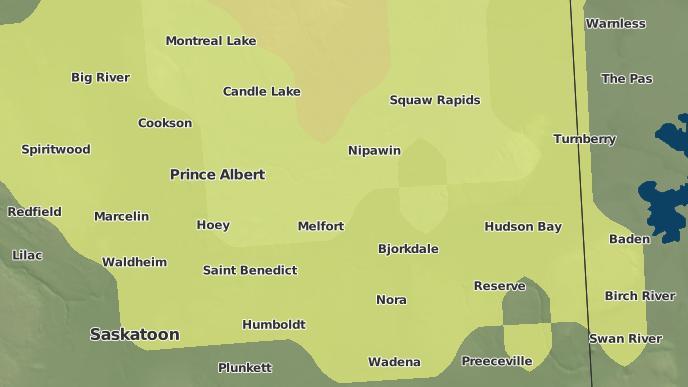 pour Kinistino, Saskatchewan
