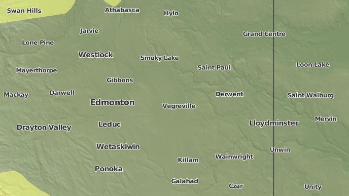 for Deville, Alberta