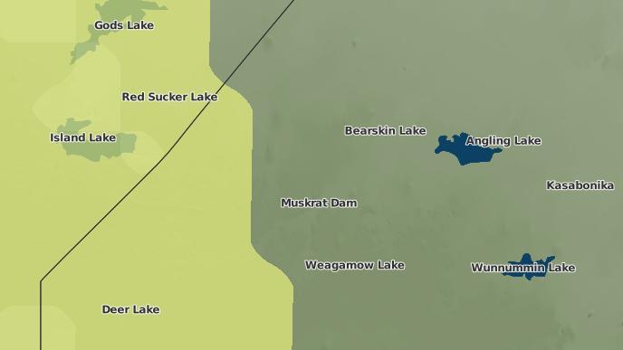 for Muskrat Dam, Ontario