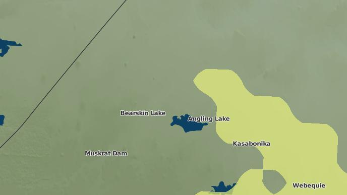 for Bearskin Lake, Ontario