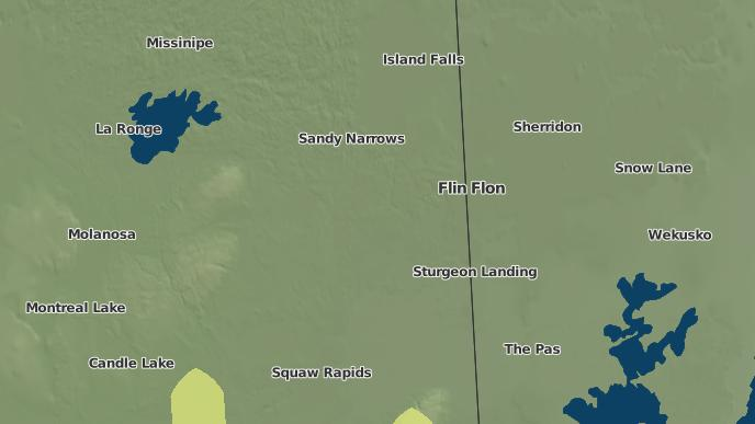 pour Amisk Lake I.R. 184, Saskatchewan
