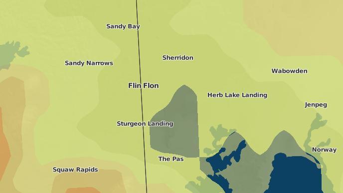 for Flin Flon, Manitoba