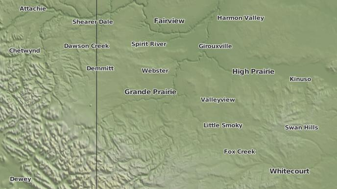 for Grande Prairie, Alberta