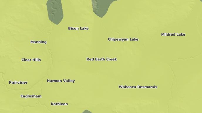 pour Peerless Lake, Alberta