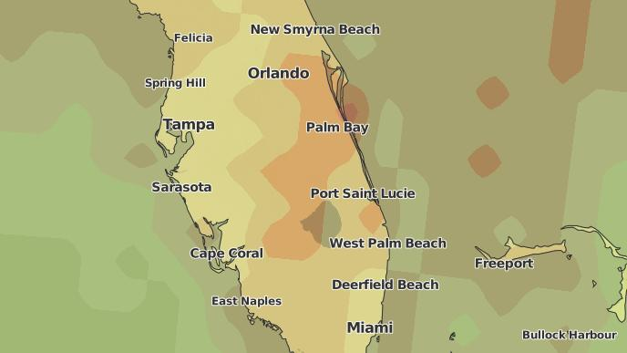 3-Day Severe Weather Outlook: Fort Drum, Florida - The