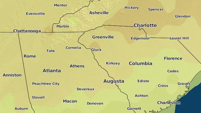 3-Day Severe Weather Outlook: Abbeville, South Carolina - The