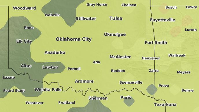 3-Day Severe Weather Outlook: Tupelo, Oklahoma - The Weather