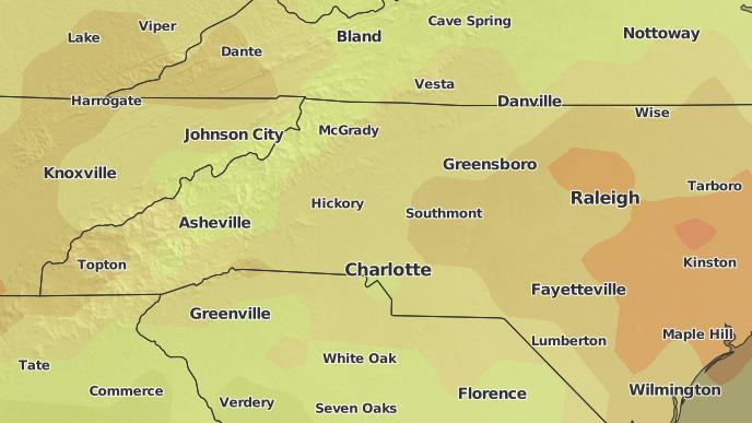 3-Day Severe Weather Outlook: Hickory, North Carolina - The
