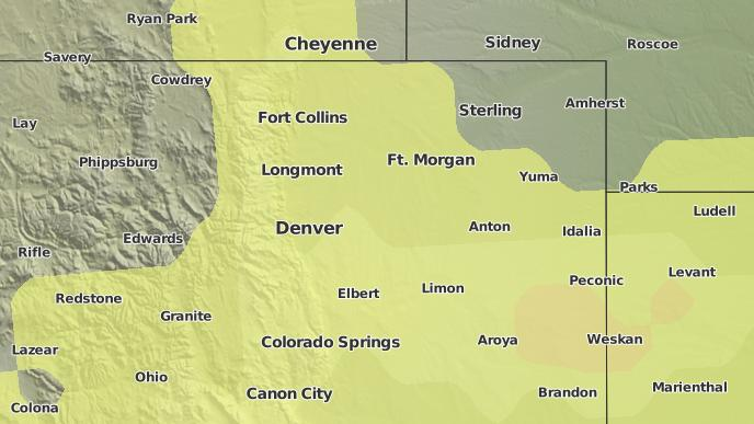 3-Day Severe Weather Outlook: Denver, Colorado - The Weather Network